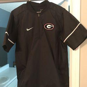 Nike UGA Short Sleeve Lockdown Jacket Large